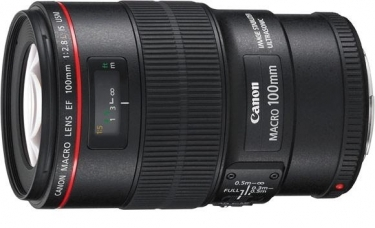 Canon Hybrid 100mm Macro F2.8L Lens with Image stabilisation (IS)