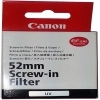 Canon 52mm UV (Ultra Violet) Glass Filter.