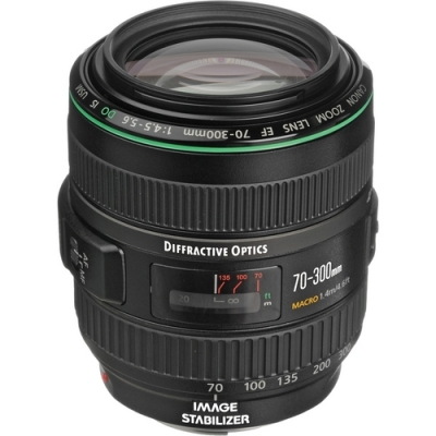 Canon EF 70-300mm f4-5.6 DO IS USM Autofocus Telephoto Lens
