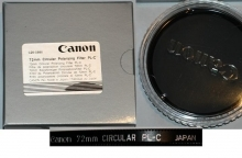 Canon 72mm Circular Polarizer Glass Filter