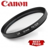 Canon 72mm UV (Ultra Violet) Glass Filter