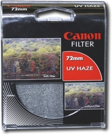 Canon 72mm UV (Ultra Voilet) Glass Filter