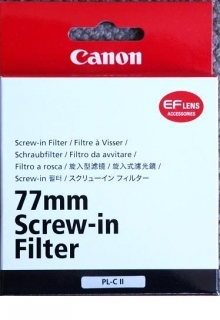 Canon 77mm Circular Polarizer II Filter