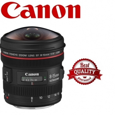 Canon EF 8-15mm F4L Fisheye USM Fisheye Ultra/Wide Zoom Lens
