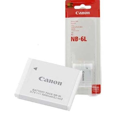 Canon NB-6L Lithium-Ion Battery For Canon PowerShot Cameras