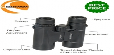 Celestron Outland-X 10x25 WP Roof Prism Binoculars