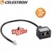 Celestron 6-Pin AUX Port Splitter For CG-5 Mount