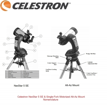 £786 Celestron NexStar 5 SE Catadioptric XLT Coated Telescope