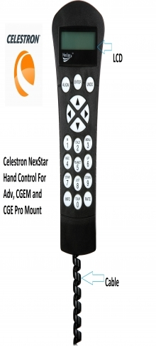 Celestron NexStar Hand Control For Adv, CGEM and CGE Pro Mount