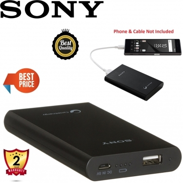Sony CP-E6-B Power Bank Smartphone Charger 5800 mAh Black