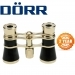 Danubia 3x24mm Opera Brass and Black Binoculars