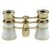 Danubia 3.5x25mm Opera Pearl And Gold Binoculars