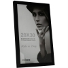Dorr 12x8-Inch Balthus Brushed Aluminium Black Photo Frame
