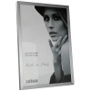 Dorr 12x8-Inch Balthus Brushed Aluminium Silver Photo Frame