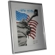 Dorr 12x9.5-Inch New York Silver Photo Frame