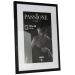 Dorr 16x12-Inch Balthus Brushed Aluminium Black Photo Frame