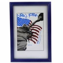 Dorr 16x12-Inch New York Blue Photo Frame