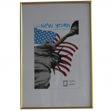 Dorr 18x12-Inch New York Gold Photo Frame