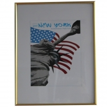 Dorr 24x16-Inch New York Gold Photo Frame