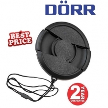Dorr 77mm Professional Replacement Lens Cap Inc Cap Keeper