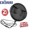 Dorr 82mm Professional Replacement Lens Cap Inc Cap Keeper