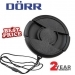 Dorr 86mm Professional Replacement Lens Cap Inc Cap Keeper