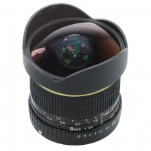 Dorr 8mm Fisheye Wide Angle Lens Canon Fit