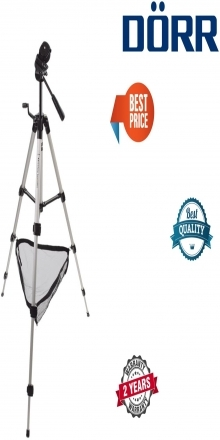 Dorr Hercules 4 Section Tripod with 3 Way Panhead Inc Quick Release