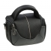 Dorr Yuma Shoulder Photo Bag - XS Black and Silver