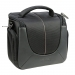 Dorr Yuma Photo Shoulder Bag - Medium Black and Silver