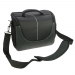 Dorr Yuma Photo Shoulder Bag - XL Black and Silver