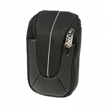 Dorr Yuma Compact Camera Case - Medium Black and Silver