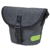 Dorr City Basic Shoulder Photo Bag - Large Grey/Lime