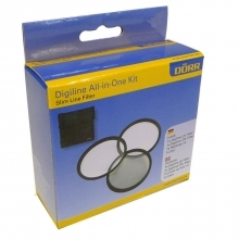 Dorr 62mm Digi Line UV, CPL and Close Up +4 Filter Kit
