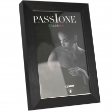 Dorr 6x4-Inch Balthus Brushed Aluminium Black Photo Frame