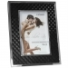 Dorr 6x4-Inch Silverstar Monza Black and Silver Photo Frame
