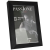 Dorr 6x4-Inch Signa Brushed Aluminium Black Photo Frame