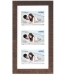 Dorr Indiana Horizontal Brown Gallery Frame for 3 6x4 Photos