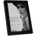 Dorr 7x5-Inch Balthus Brushed Aluminium Black Photo Frame