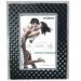 Dorr 7x5-Inch Silverstar Monza Black and Silver Photo Frame