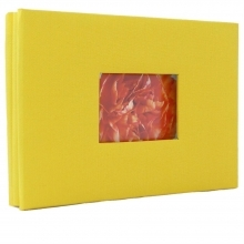 Dorr Yellow Mini Screw Traditional Photo Album with 36 Black Sides