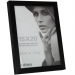Dorr 8x6-Inch Balthus Brushed Aluminium Black Photo Frame