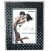 Dorr 8x6-Inch Silverstar Monza Black and Silver Photo Frame
