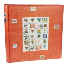 Dorr Stamps Coral Traditional Photo Album - 100 Sides