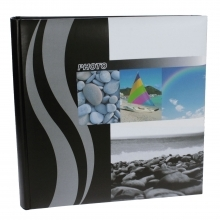Dorr Wave Beach Traditional Photo Album - 100 Sides