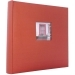 Dorr Window Red Traditional Photo Album - 100 Sides