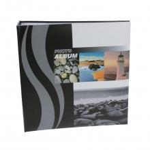 Dorr Wave Lighthouse 6x4 Slip In Photo Album - 200 Photos