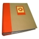 Dorr Green Earth Orange Sun 7x5 Slip In Photo Album - 200 Photos