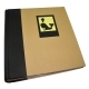 Dorr Green Earth Black Whale 7x5 Slip In Photo Album - 200 Photos