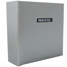 Dorr Elegance Grey Traditional Photo Album - 50 Sides